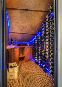 Versacork in Wine Cellar