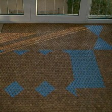 mosaic-unfinished-Versacork Residential Stained